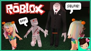 Escaping Slender in Roblox! Horror Game Jokes - Titi Games