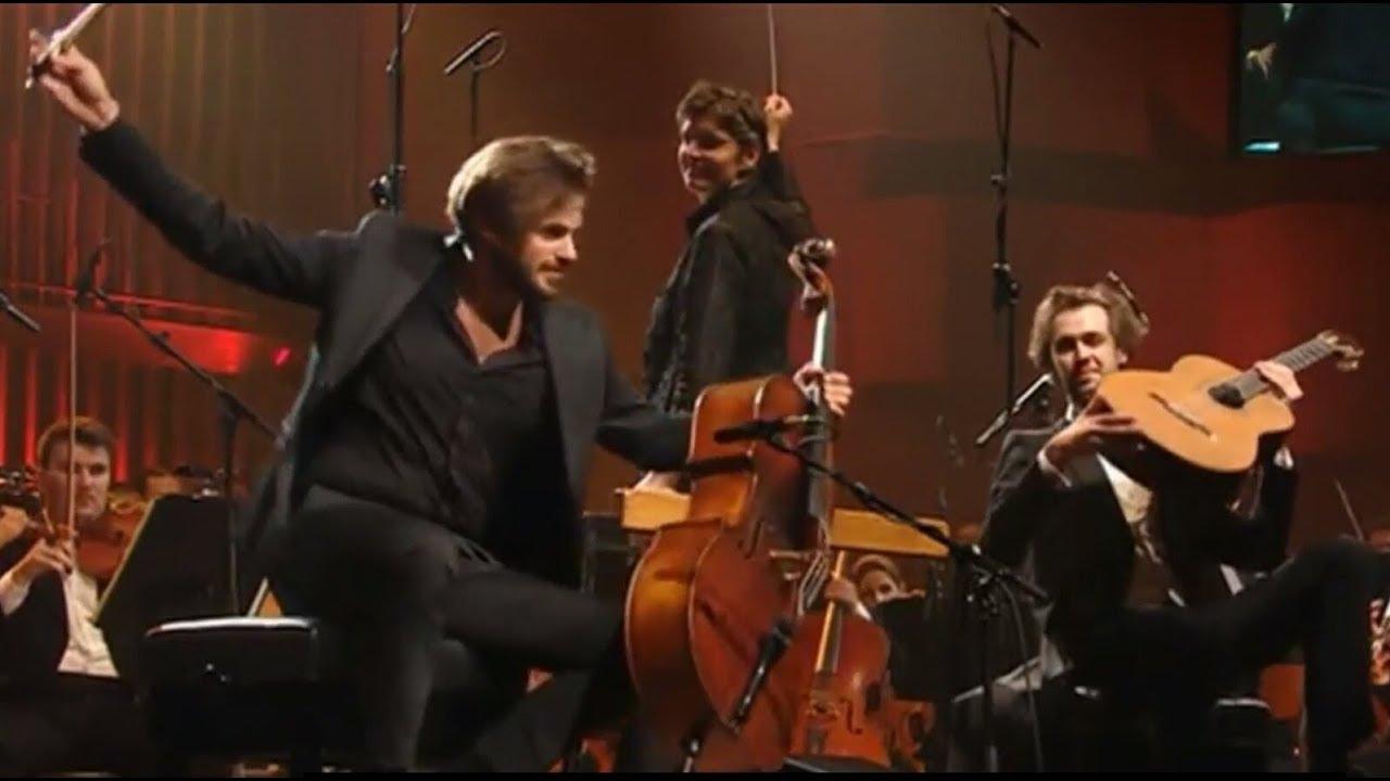Stjepan Hauser & Petrit Çeku with the Zagreb Philharmonic Orchestra