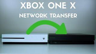 Xbox One X Network Transfer Speed Test