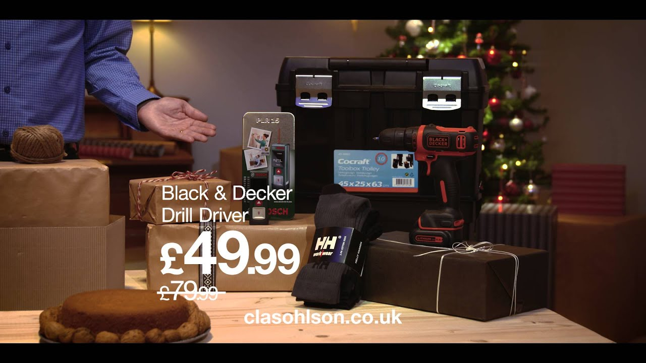 Hardware gifts from Clas Ohlson