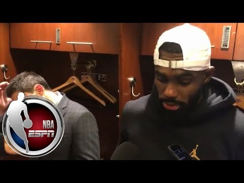 [FULL] Tim Hardaway Jr. after Knicks' 'frustrating,' 'embarrassing' loss to 76ers | NBA on ESPN