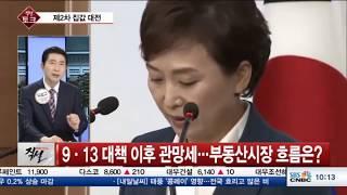 [직설 라이브]  서울 아파트 가격 상승세 꺾이나...부동산 시장 진단과 분석