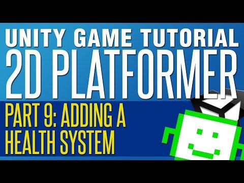 Adding A Health System - Unity 2D Platformer Tutorial - Part 9