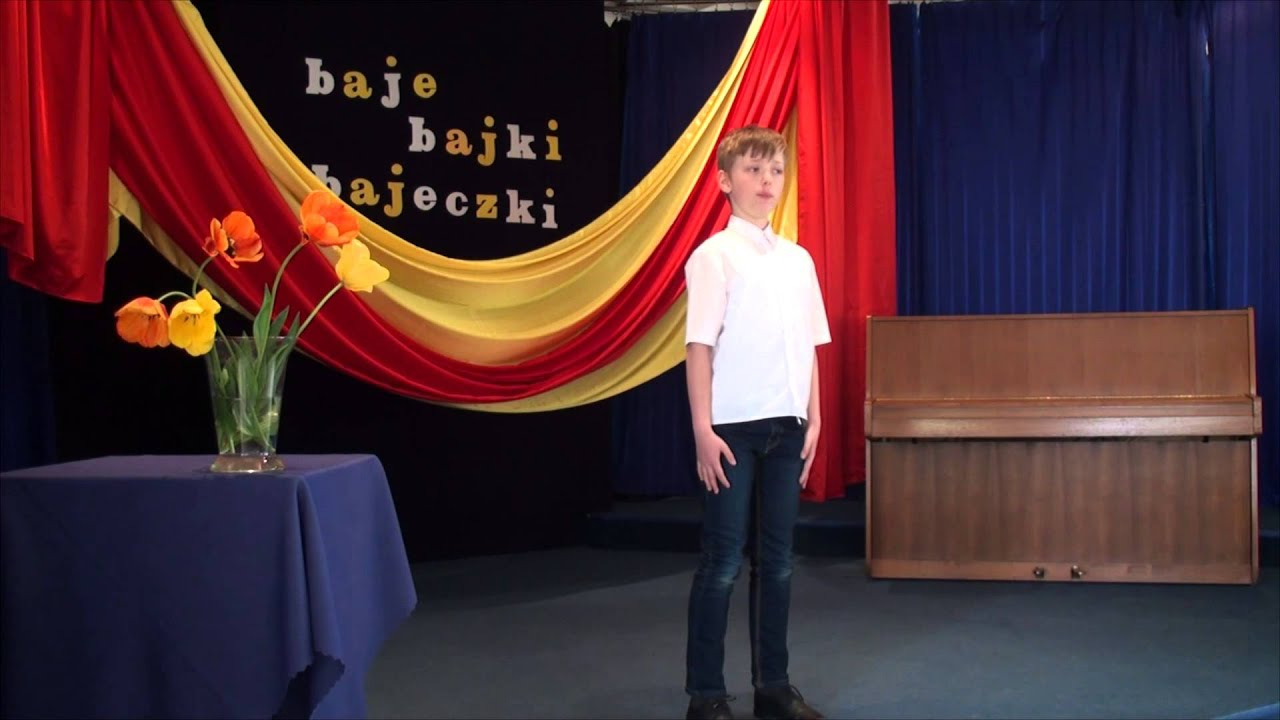 Hubert Nowicki Wiersz Jana Brzechwy Sum