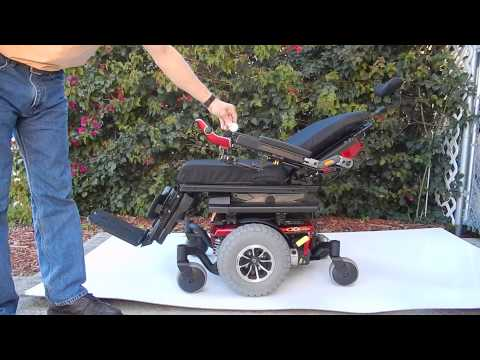 Pride Mobility Quantum Q6 Edge Power Chair with TRU-Balance 3 POWER  POSITIONING SYSTEM - Used Wheelchairs