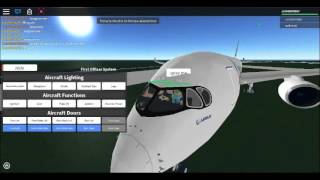 ROBLOX Avion Practice place - UAL B-747-400 AAL A350