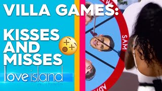 Villa games: 'Cupid's Arrow' challenge sees unexpected kiss | Love Island Australia 2019
