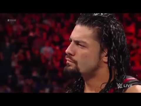 Roman Reigns has a chilling encounter with The Undertaker: Raw, March 6, 2017 - Video