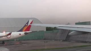 Early morning takeoff at manila airport