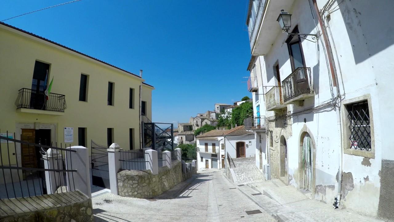 Streets Of Zungoli / Le Strade Di Zungoli 4K