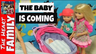 s1e5 we re having a baby part 2 barbie stop motion the heart family