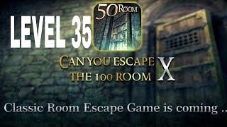 Can You Escape The 100 room X level 35 Walkthrough