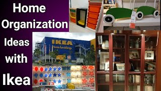 Home Organization Ideas /New & latest organization products at Ikea/ Ikea tour / A day at Ikea.