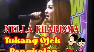 Nella Kharisma Tukang ojek Pengkolan Patianrowo Nganjuk
