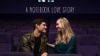THE BEST MOVIE THEATER PROPOSAL EVER! Baylin and McKenzie's Notebook Love Story