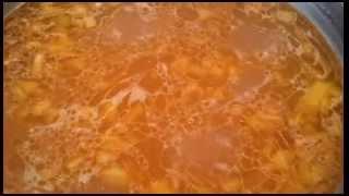 Суп с мелкой вермишелью. Видео рецепт.