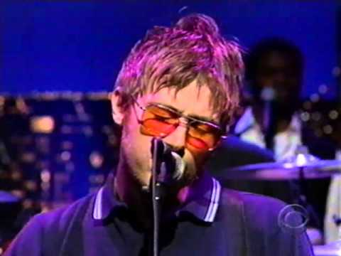 "Blur on Letterman -- ""Tender"" (1999)"