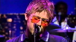 """Blur on Letterman -- """"Tender"""" (1999)"""