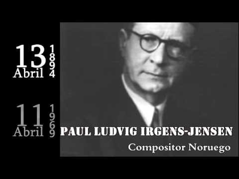 ABRIL 13. Paul Ludvig Irgens-Jensen, Bill Conti & Stanisław Marcin Ulam,…