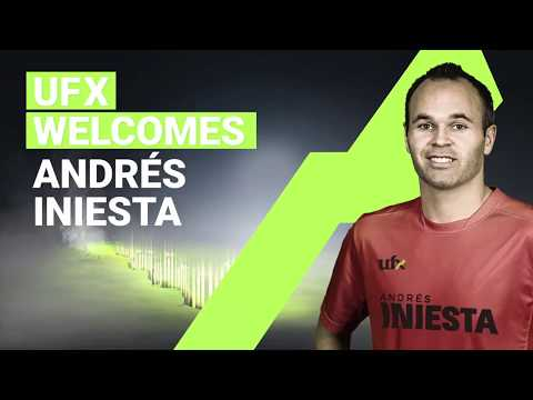 UFX Welcomes  Andrés Iniesta to the Team