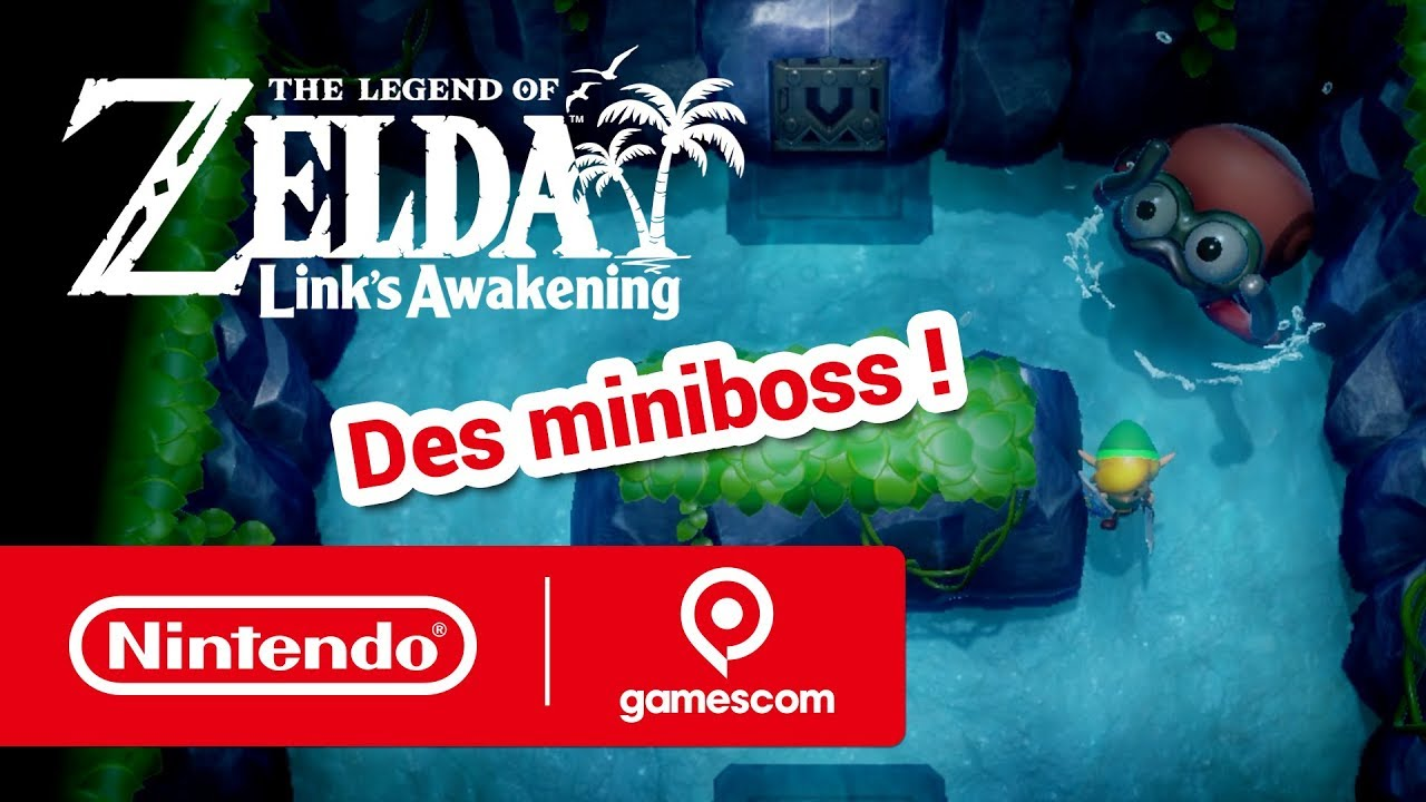 Nintendo Presents : The Legend of Zelda: Link's Awakening (gamescom 2019) thumbnail