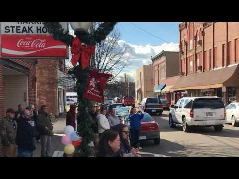 Carolin Harris: Last ride down Main Street