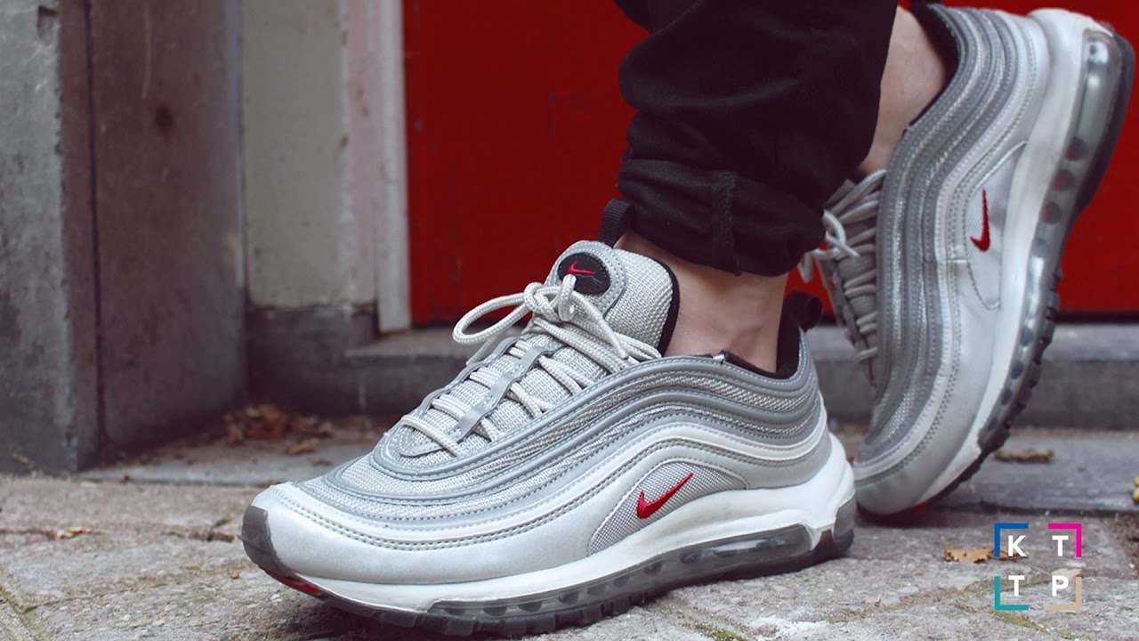 Nike Air Max 97 OG (Silver Bullet) Unboxing and On Feet Video