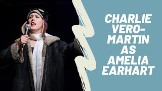 Charlie Vero-Martin as Amelia Earhart