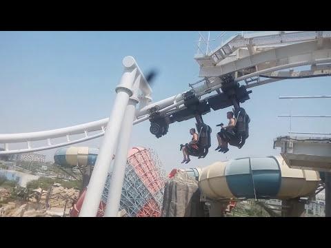 Yas WaterWolrd | Day At Scary Water Slides Yas WaterWorld Abu Dhabi UAE
