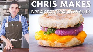 Chris Makes Breakfast Sandwiches | From the Test Kitchen | Bon Apptit