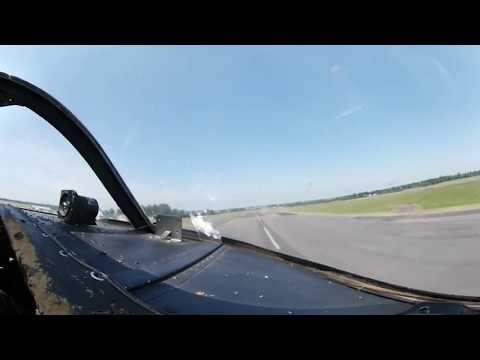 To the White Cliffs of Dover in a Jet Provost, recorded with a 360-degree camera