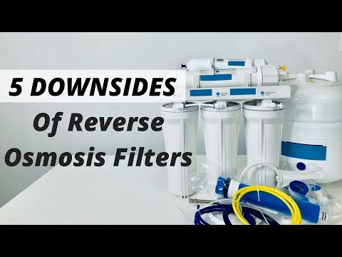 5 Problems With Reverse Osmosis Water Filters