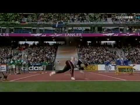 2003 Paris Javelin world Championship Final Round OF THROWS
