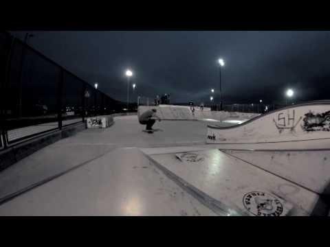 Shufflé de skateparké