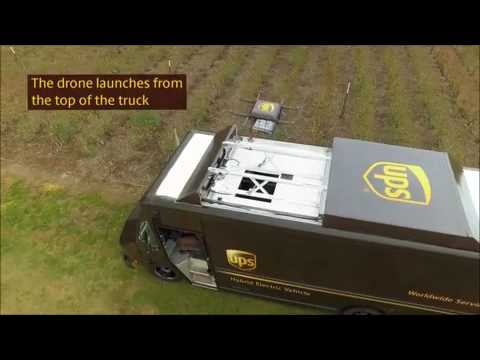 Break - How UPS Plans To Use Drones To Increase The Speed Of Their Deliveries