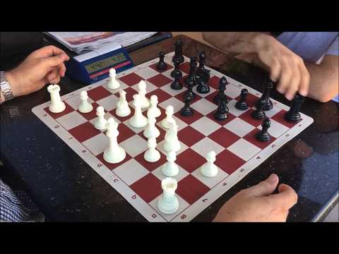 "Thumbnail: ""Just When U Thought It Was Safe to Play Chess, This Happens"" - Great Carlini vs. ""Analytical"" Allen"