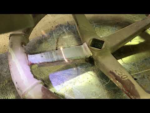 Čištění otočné části ventilu