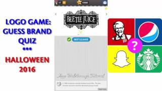 logo game guess brand quiz halloween 2016 all answers walkthrough youtube logo game guess brand quiz halloween 2016 all answers walkthrough