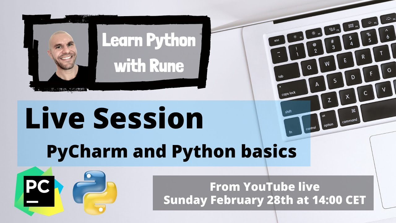 Get started with PyCharm and Python Basics