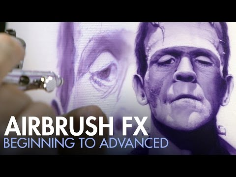 Airbrush FX - Beginning to Advanced with Craig Fraser - PREVIEW