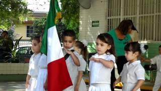 05 GRADUACION Himno Nacional Mexicano   Kinder Federico Froebel 20120703
