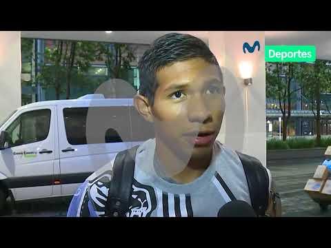 Edison Flores 'trollea' a Pedro García en su llegada a Nueva Zelanda