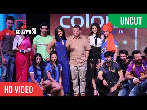 Uncut - Box Cricket League (BCL) Launch | Sunny Leone | Ekta Kapoor | Colors TV