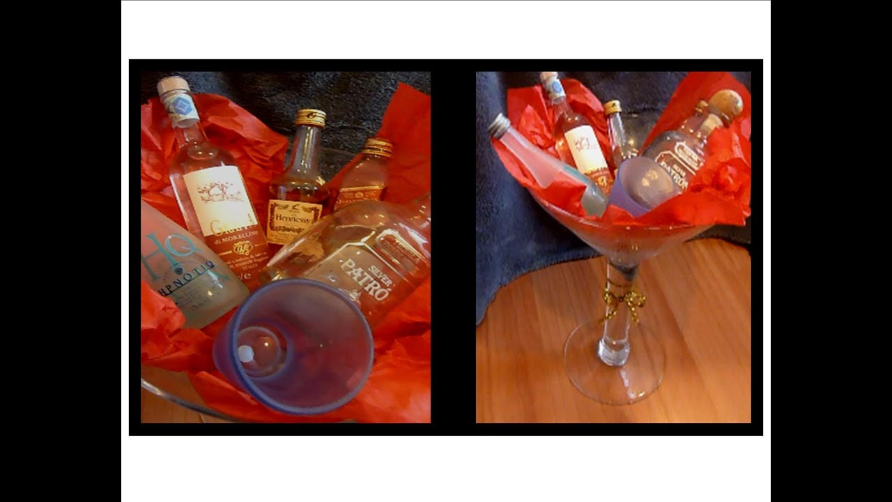 Christmas gift basket ideas with alcohol