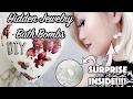 DIY: Hidden Jewelry Rose Bath Bombs !!!