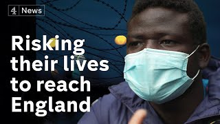 Risking their lives to reach Britain - the Calais migrants planning to cross the Channel