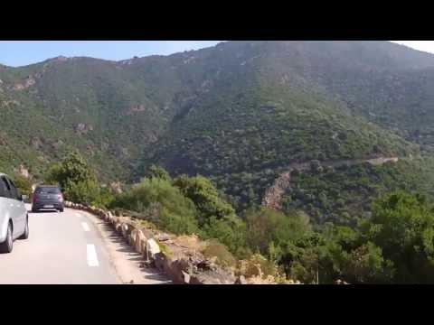 Bicycle trip around Corsica