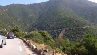 Bicycle trip around Corsica