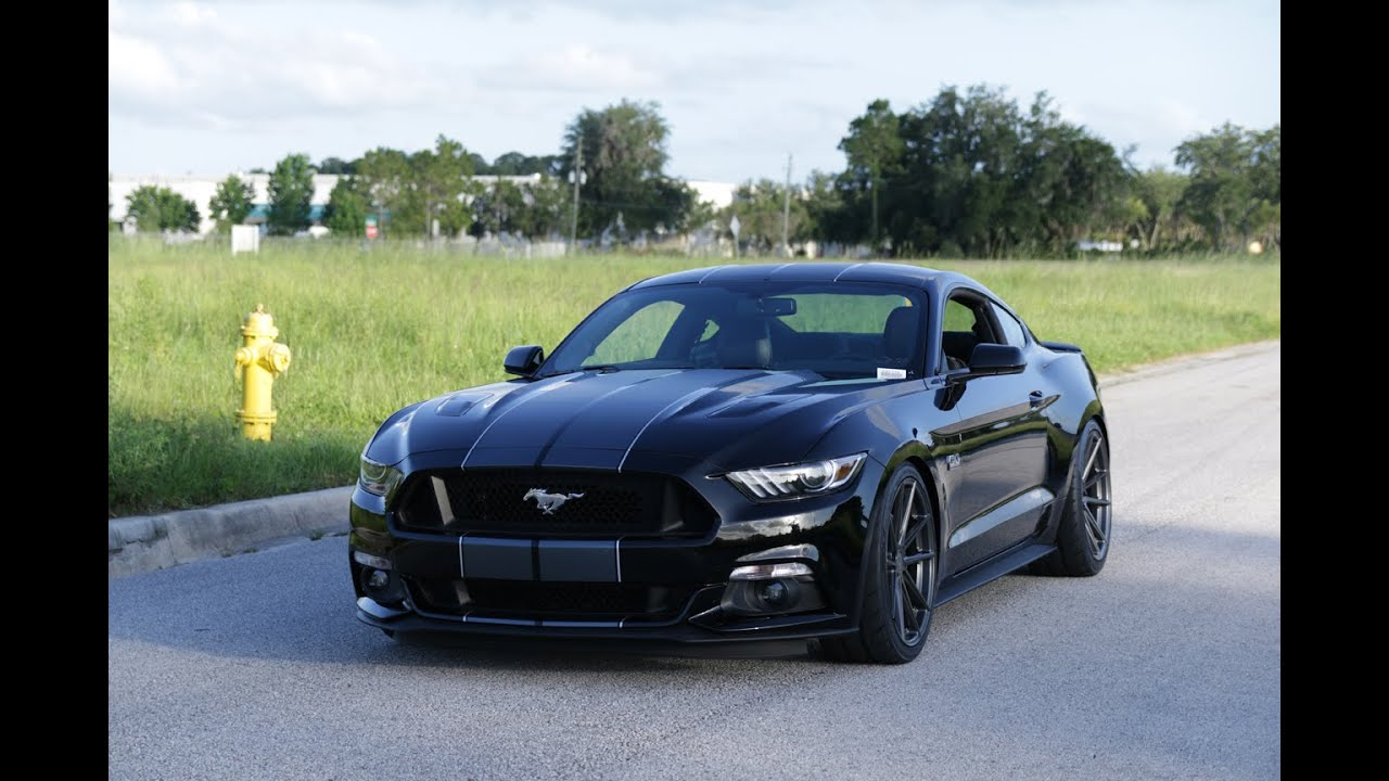 2016 mustang gt roush supercharged 670 hp walk around and exhaust