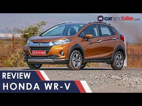 Honda Wr V First Drive Review Ndtv Carandbike